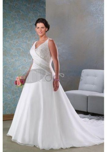 Abiti da Sposa Taglie Forti-Pizzo bellissimi abiti da sposa taglie