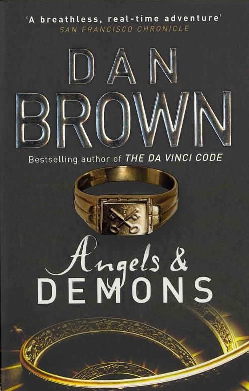 Angels And Demons Dan Brown... T... #danbrown#bog#bøger#books#novel#roman#reading#læsning