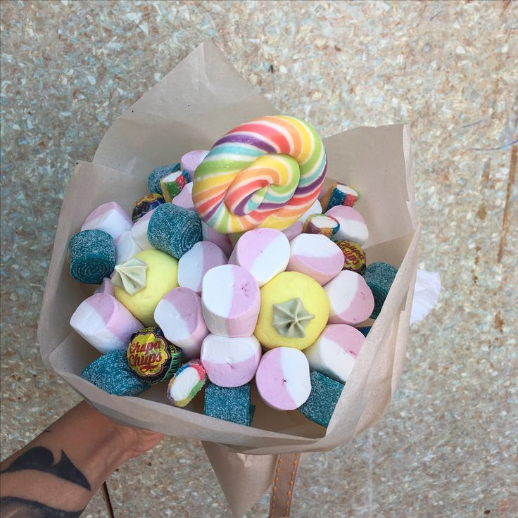 Букет и marshmallows