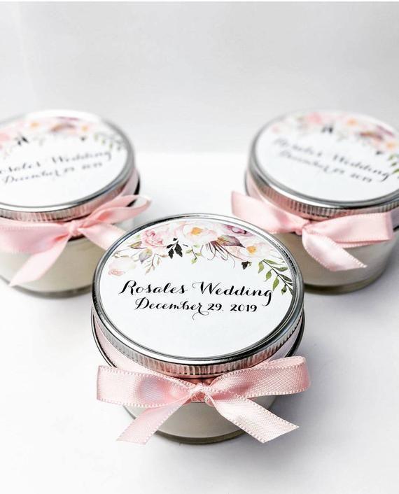 Wedding Favor Candles 50 Mason Jar Favors Bridal Shower Etsy In 2020 Candle Favors Wedding Bottle Opener Favors Mason Jar Favors Bridal