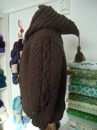Billedresultat for strikkede trøjer med hætte