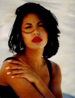 The late Tejana singer Selena Quintanilla