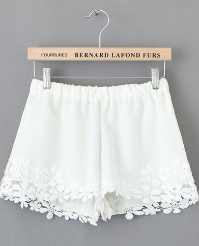 I have a pair of shorts, pretty much exactly like this... except they're black. I love them!! Can't wait til' it gets warm enough to wear them!