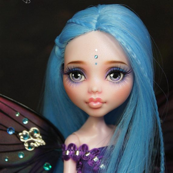 Monster high repeindre coutume face vers le haut Draculaura, « Evangeline »