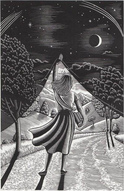 Illustration by Douglas Smith [Illustrator of Wicked, 1995 ed]