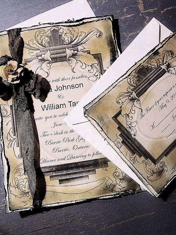 96 best Handmade wedding invitations images on Pinterest