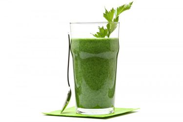 Parsley passion smoothie