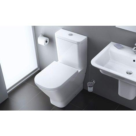 pack wc complet roca the gap evacuation duale. Black Bedroom Furniture Sets. Home Design Ideas