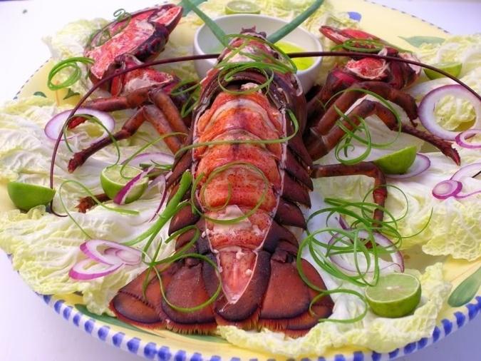 Lobster sous vide