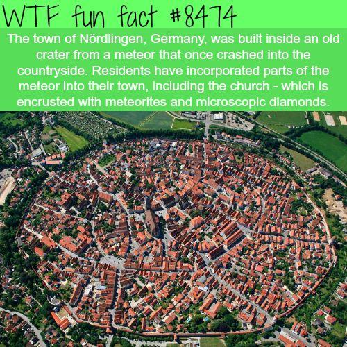 Nördlingen, Germany - WTF fun facts