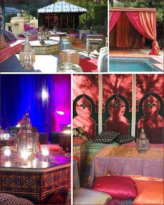 The Wedding Decorator: A Moroccan Affair