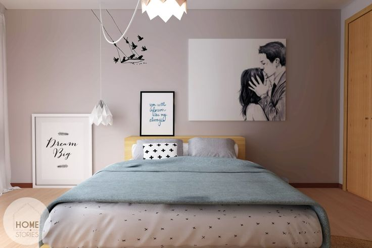 A look at a modern couple's dream bedroom which can change o…