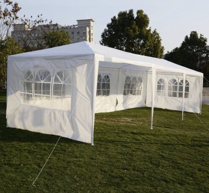 10'x30' Party Wedding Outdoor Patio Tent Canopy Heavy duty Gazebo Pavilion Quince Event