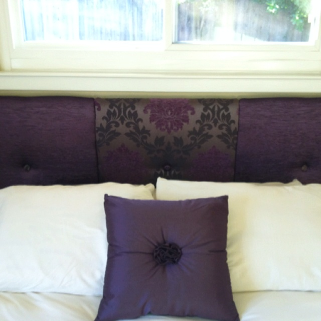 Diy Headboard I Didn 39 T Like The Fabric Idea But This