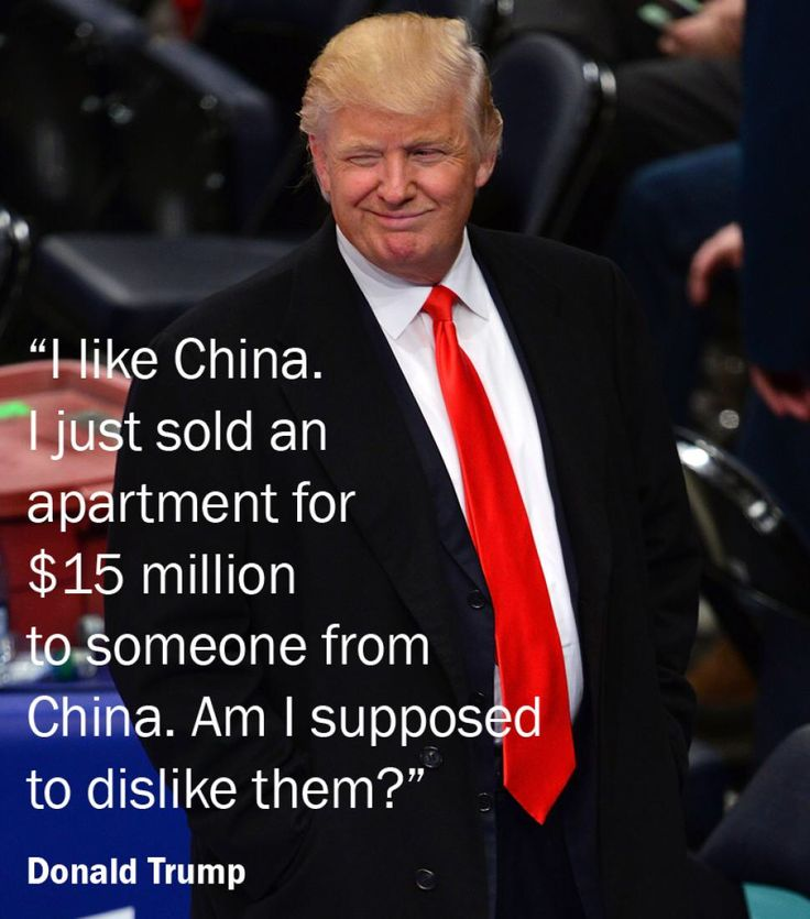 Image result for donald trump quotes about china