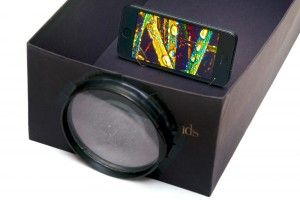 diy beamer f r handy projektionen kleines kino vom handy. Black Bedroom Furniture Sets. Home Design Ideas