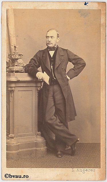"""N. Crețulescu, Viena. Imagine din colecțiile Bibliotecii """"V.A. Urechia"""" Galați."""