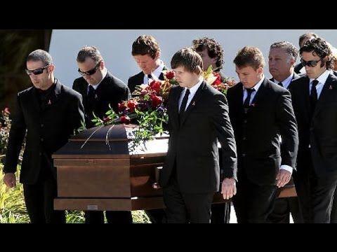 Vin diesel at paul walkers funeral