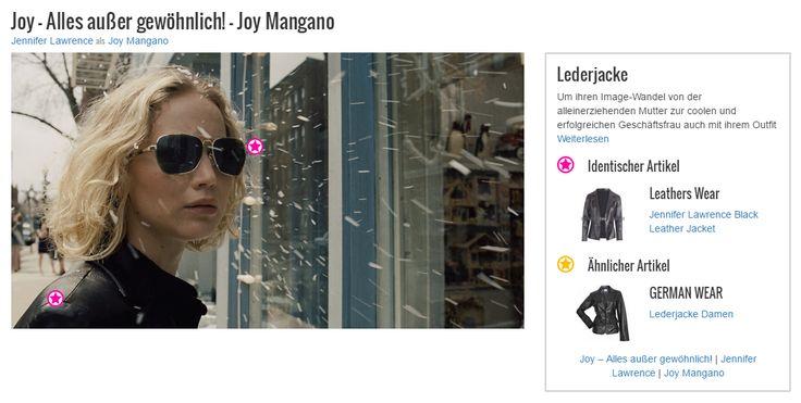Um ihren Image-Wandel von der alleinerziehenden Mutter zur coolen und erfolgreichen Geschäftsfrau auch mit ihrem Outfit zu verdeutlichen ist es für Joy Mangano (Jennifer Lawrence) unvermeidbar, auch kleidertechnisch eine Verwandlung durchzumachen. Daher verabschiedet sie sich von ihrem alten Style und wählt eine schlichte, aber aussagekräftige Lederjacke. Das kräftige Schwarz und der Blazer-Schnitt sorgen für ein direktes und markantes Outfit, das schon fast in die Richtung eines maskulinen…
