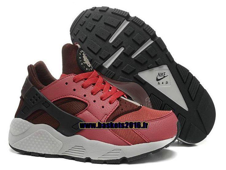 Nike Air Huarache 1 Chaussures Nike Officiel Prix Pas Cher Pour Homme Noir , Rouge ,