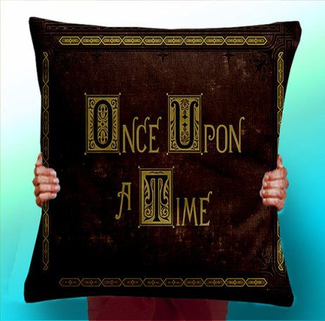 Bookish pillows via Maximum POP! UK https://www.etsy.com/uk/listing/225799439/once-upon-a-time-story-book-cushion