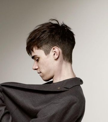 New Hairstyles for Men 2015 | with side shorter and top longer, this angular fringe will look good to you #menshaircut #MensHairCuts