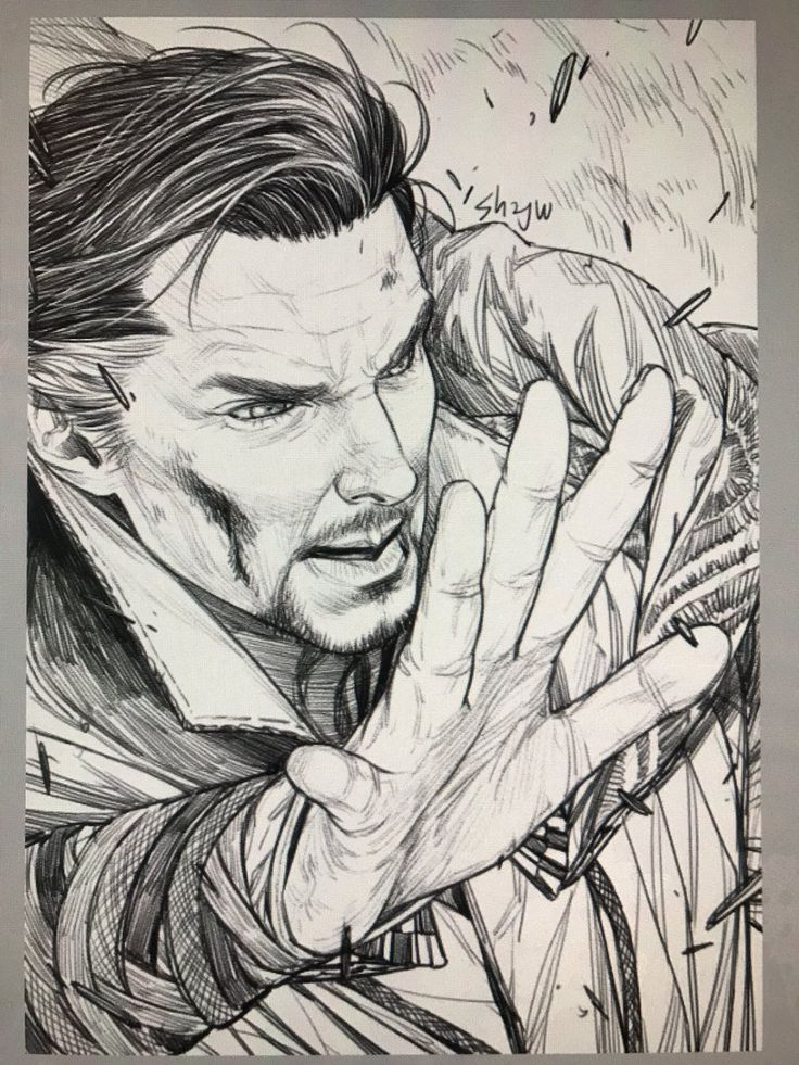 I love all the new Doctor Strange art!! I just don't understand why none of them pictures have the scars on his hands..
