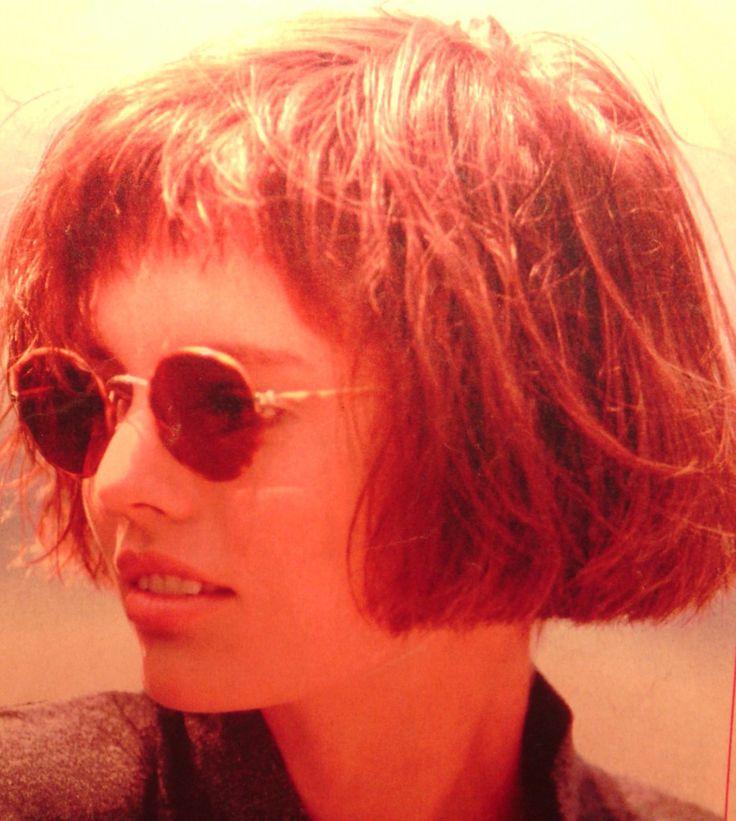 trendy bob kapsel vrouw jaren 80
