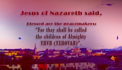 """Talking about Jesus Christ.: """"Let's live peaceably with all men"""""""