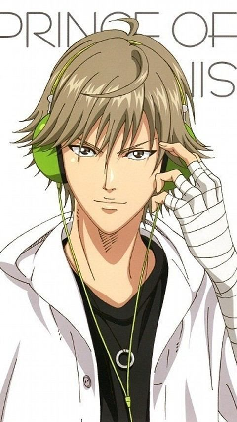 The Prince of Tennis (Shiraishi) lol! i have that same ring necklace and two tiny ahoges as well!!!!!