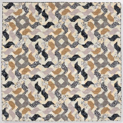 Exciting quilt in Modern Neutrals