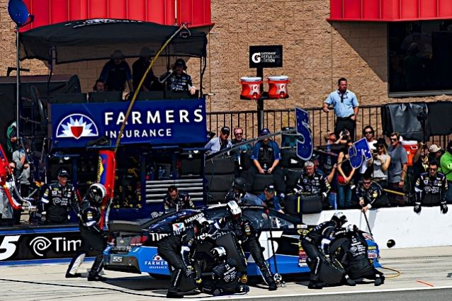 Kasey Kahne, driver of the No. 5 Time Warner Cable Chevrolet SS, finished 41st on Sunday at the NASCAR Sprint Cup event in Fontana, Calif. http://www.pinterest.com/jr88rules/nascar-2014/ #NASCAR2014