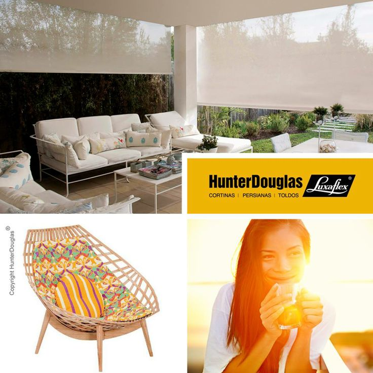 48 best images about toldos on pinterest hunter douglas for Toldos para patios
