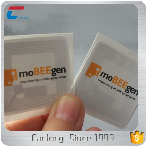 NTAG 213F fitness android bluetooth nfc rfid tag in