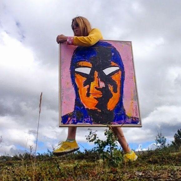Bli kjent med fabelaktige Hege Holen Paulsrud som har samlet inn over 600.000 kroner til kreftsaken i år!   Get to know the wonderful artist Hege Holen Paulsrud!