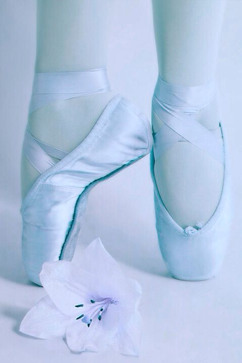 ~ Jadranka´s blue cottage ~ Baby Blue Ballet Shoes