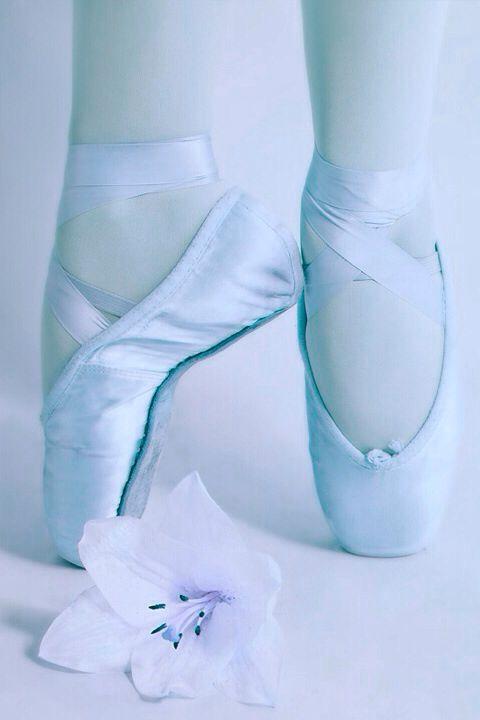 ~ Jadranka´s blue cottage ~ Baby Blue Ballet Shoes