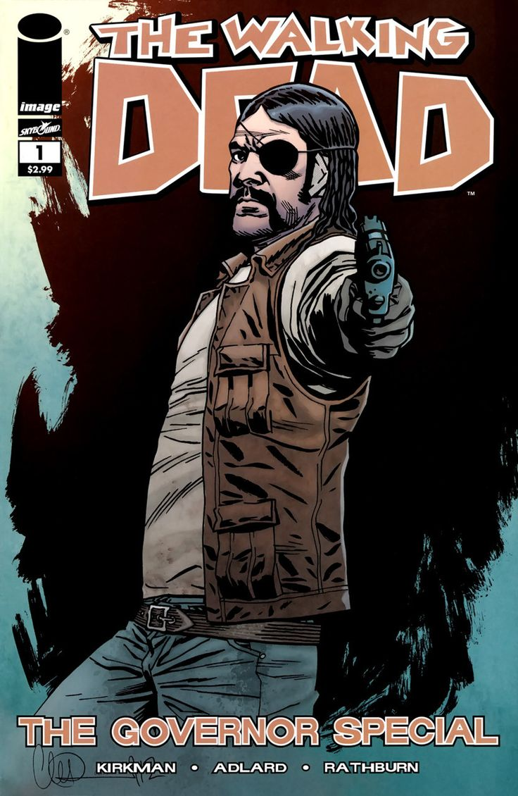 Image - The Walking Dead - The Governor's Special #1