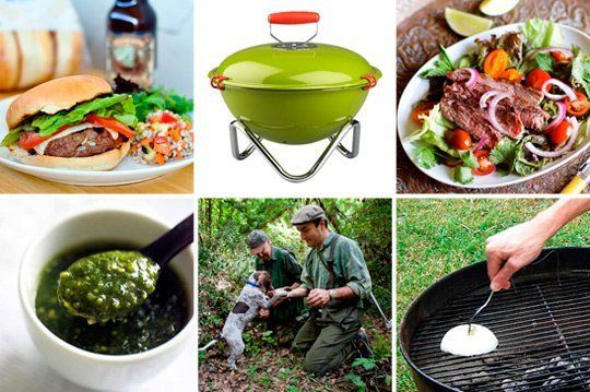 How to Grill Juicy Burgers, Truffle-Hunting in Tuscany & A Grill Built for One — Friday Flashback