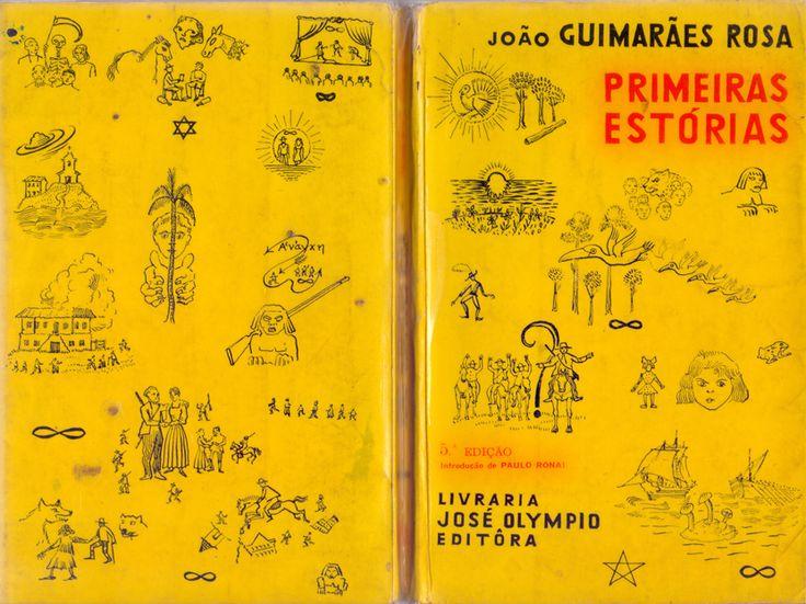 Book Cover- Primeiras Estorias-  Joao Guimaraes Rosa- Poti Cover- 5th Edition- Brazil- 1969.
