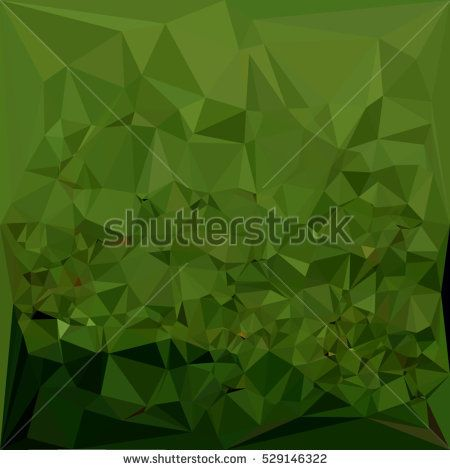 Low polygon style illustration of a chlorophyll green abstract geometric background. #abstractbackground #lowpolygon #illustration