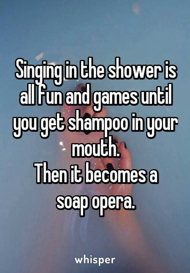 Don I T Sing I Shower Perform