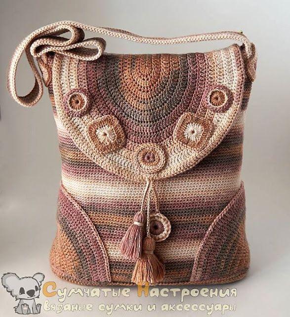 Letras e Artes da Lalá: Bolsas de crochê (fotos encontradas no google, sem receitas)
