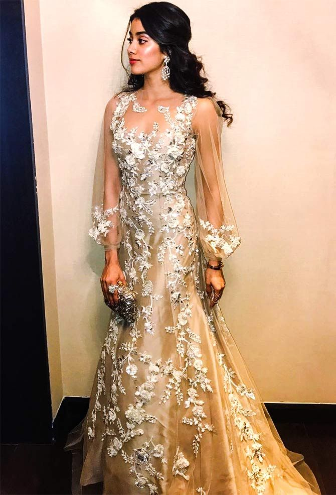Meet Sridevi's daughter, Janhvi Kapoor - Rediff.com movies