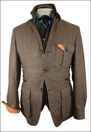tweed/tartan/chmbray ensemble, Les Frères JO' - Men's Style Inspiration: Vestes et Manteaux