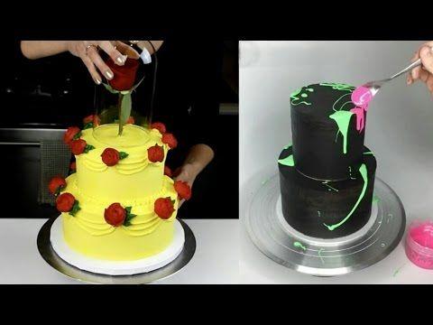 Удивительные украшения тортов мастера своего дела подборка - YouTube