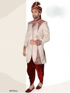 Royal Look Dhoti Sherwani