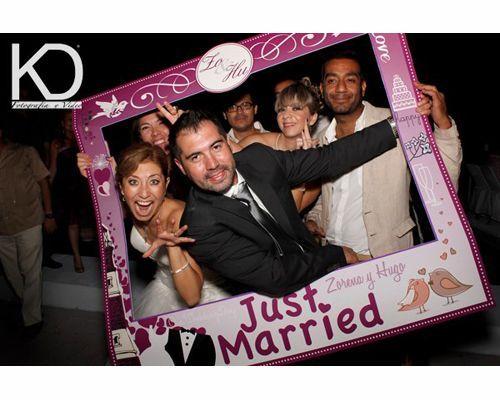 marco para de unicel para boda buscar con google