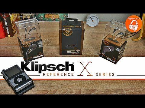 Klipsch Reference X Series | Обзор арматурных наушников - YouTube