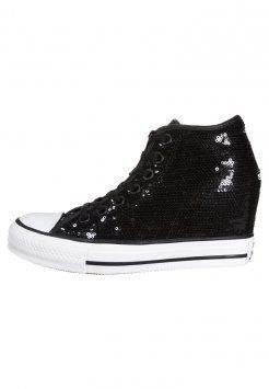 Converse - CHUCK TAYLOR ALL STAR MID - Sneakers alte - black